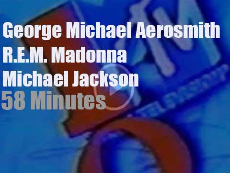 On TV today, Michael Jackson, Madonna et al at 'MTV 10th Anniversary' (1991)