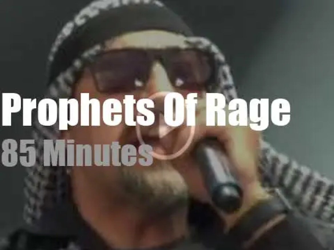 Prophets of Rage play 'Rock am Ring' (2017)