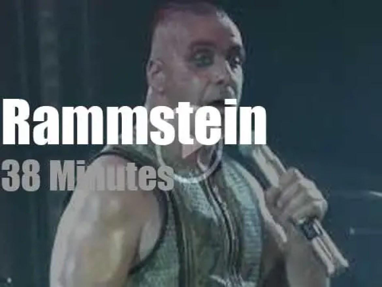 Rammstein rock  Dresden (2019)