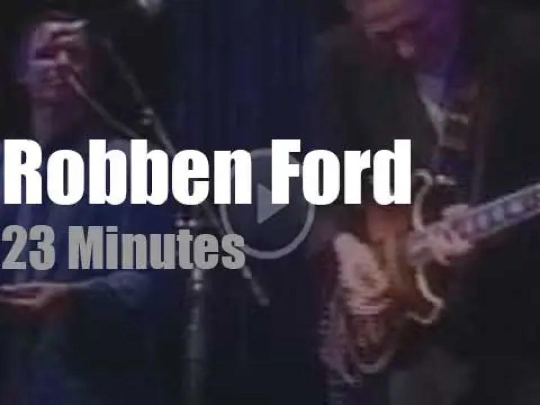 Robben Ford rock New-York City (1990)