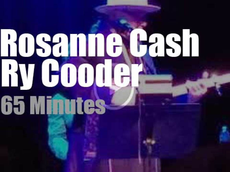 Rosanne Cash and Ry Cooder celebrate Johnny Cash (2019)