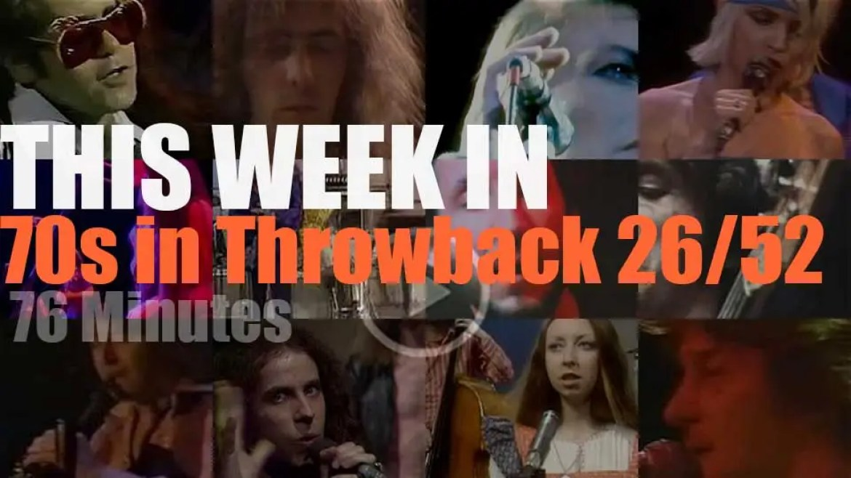 This week In  '70s Throwback' 26/52