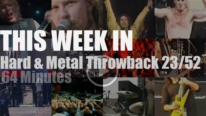 This week In  'Hard & Metal Throwback'  23/52