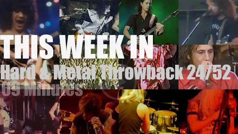 This week In  'Hard & Metal Throwback'  24/52