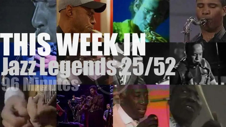 This week In Jazz Legends 25/52