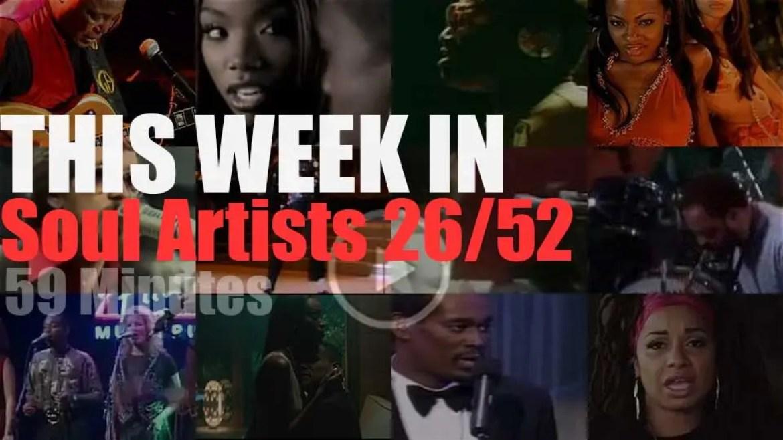 This week In Soul Artists 26/52