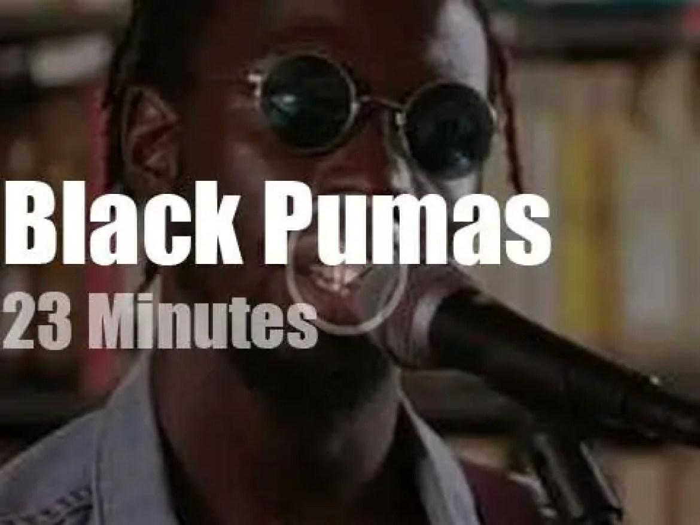 Black Pumas play a short set at Paste Studios (2019)