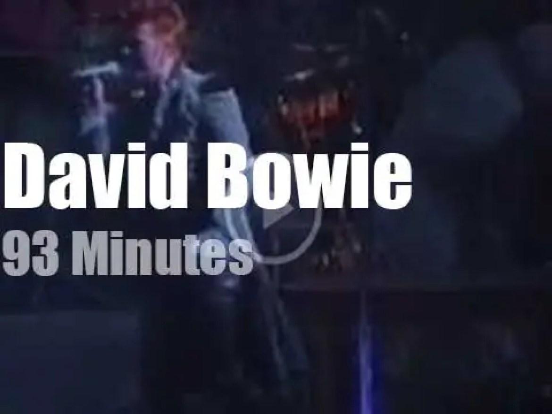 David Bowie visits Monaco (1996)