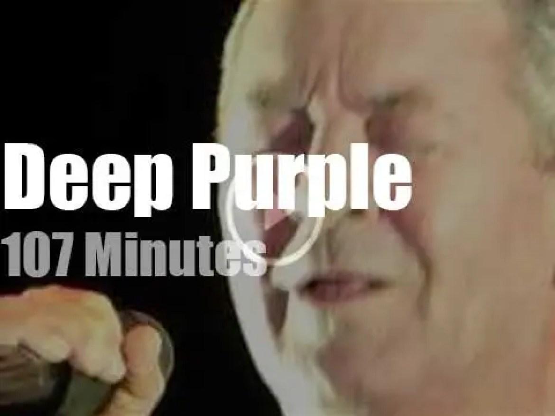 Deep Purple open a Belgian festival (2016)