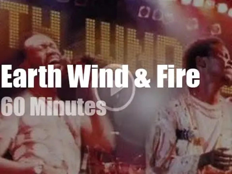 Earth Wind & Fire rock New-Jersey (1976)