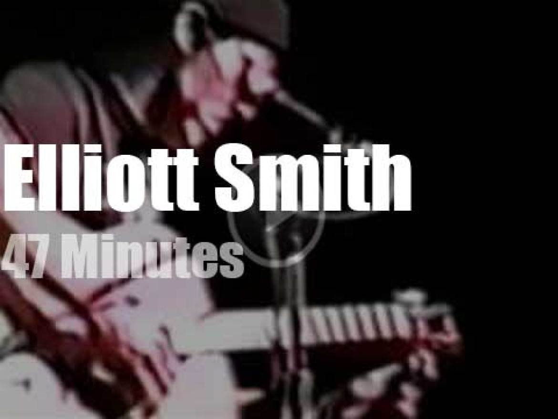 Elliott Smith sings in New-York (1996)