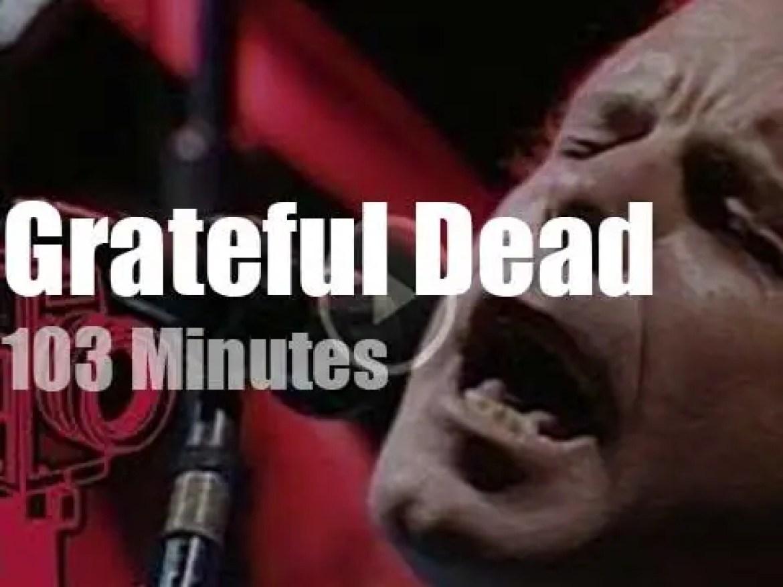 Grateful Dead visit Pittsburgh (1990)