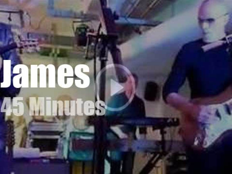 James play a secret concert (2014)