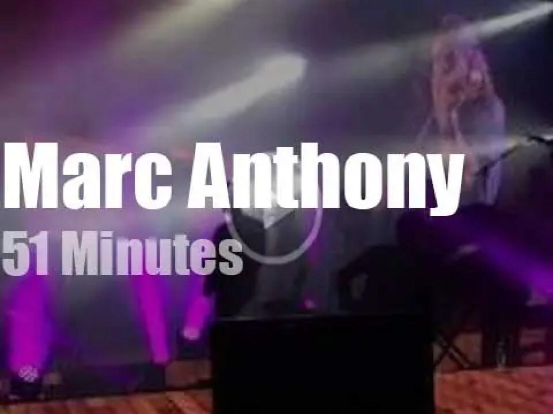 Marc Anthony's salsa 're-fresh' Madrid (2015)