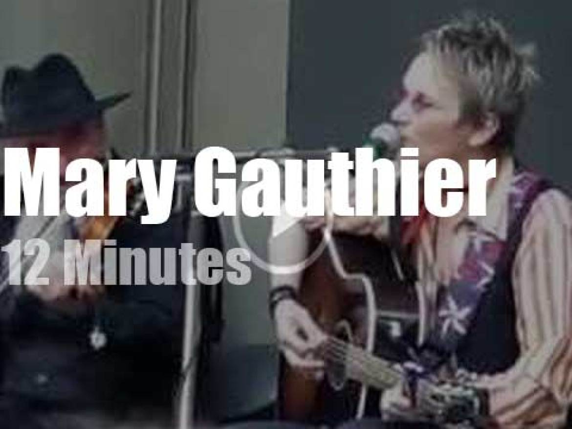 Mary Gauthier brings her folk music to Vancouver (2015)
