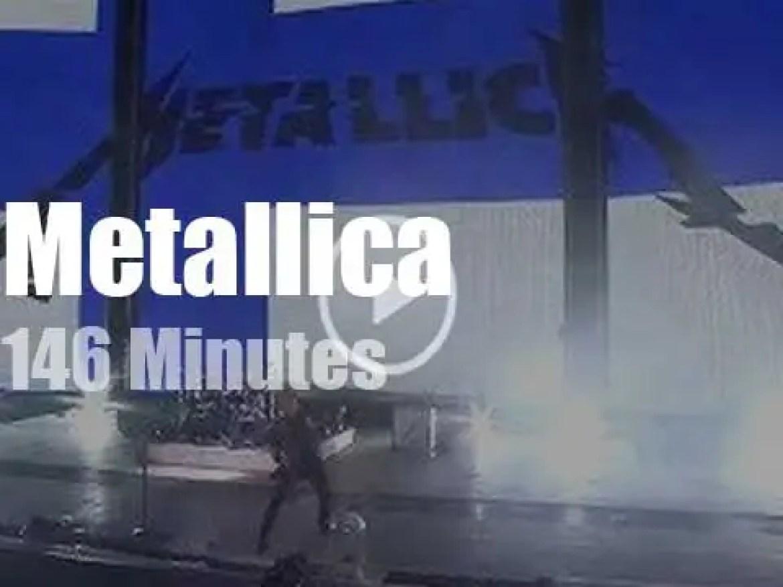 Metallica serenade Finland (2019)