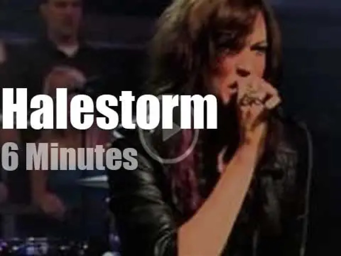 On TV today, Halestorm with Jimmy Fallon (2010)