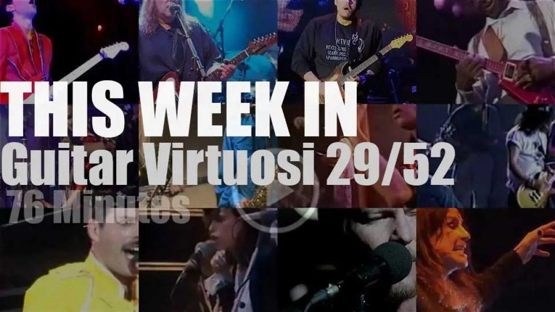 This week In Guitar Virtuosi 29/52