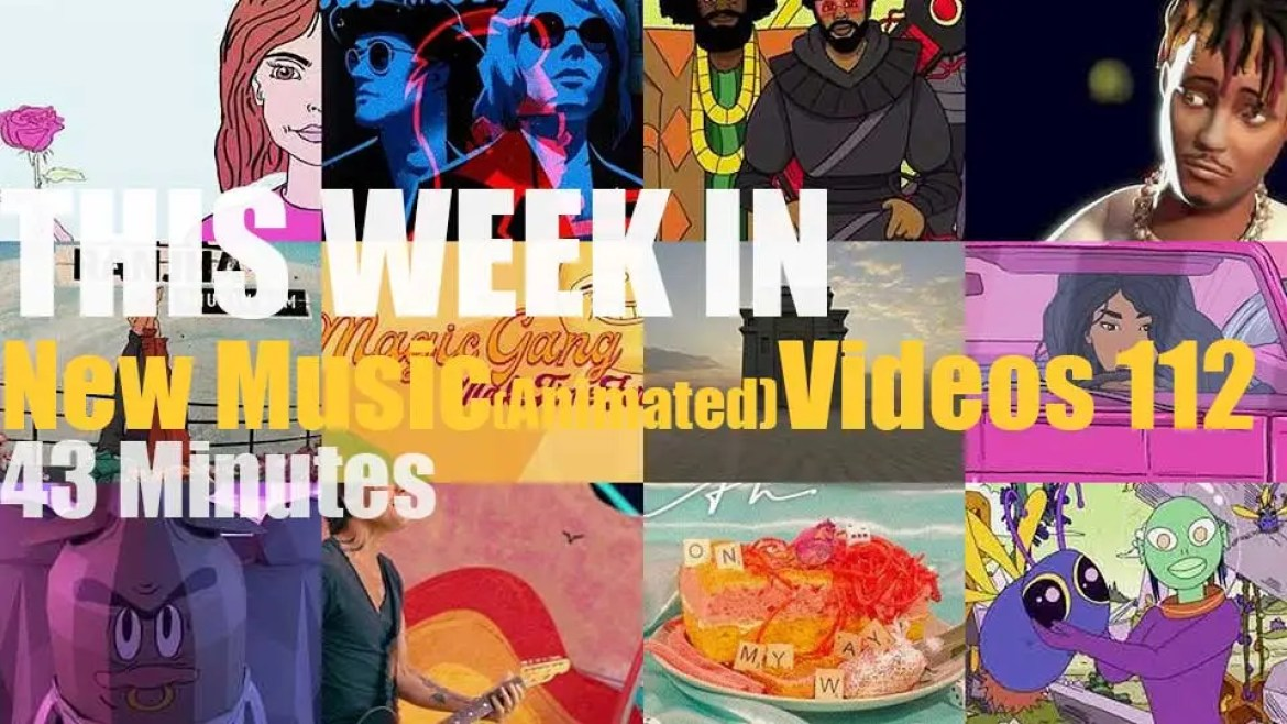 This week In New (Animated) Music Videos 112