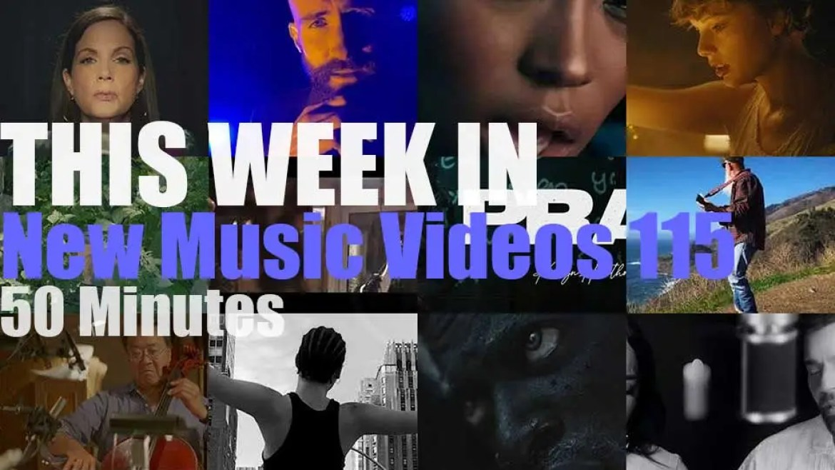 This week In New Music Videos 115