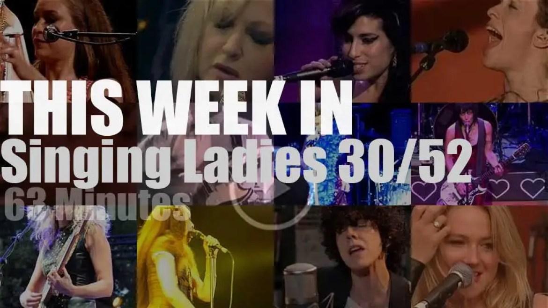 This week In Singing Ladies 30/52