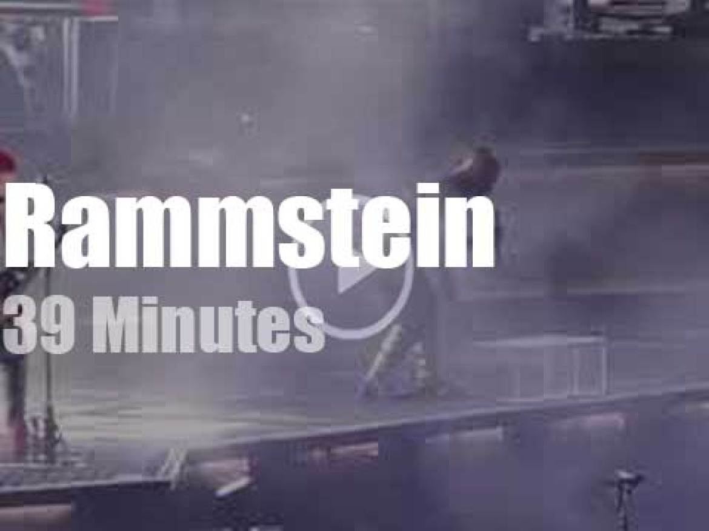 Rammstein occupy Stockholm (2019)