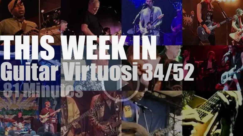 This week In Guitar Virtuosi 34/52