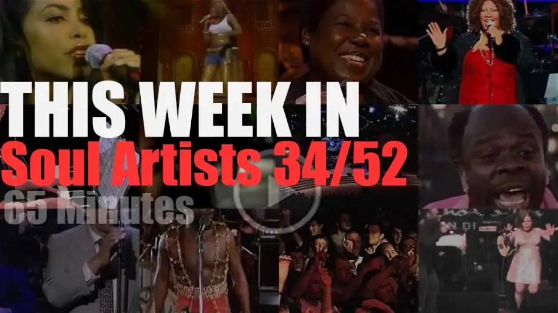 This week In Soul Artists 34/52