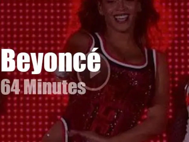 Beyoncé sings against poverty (2015)