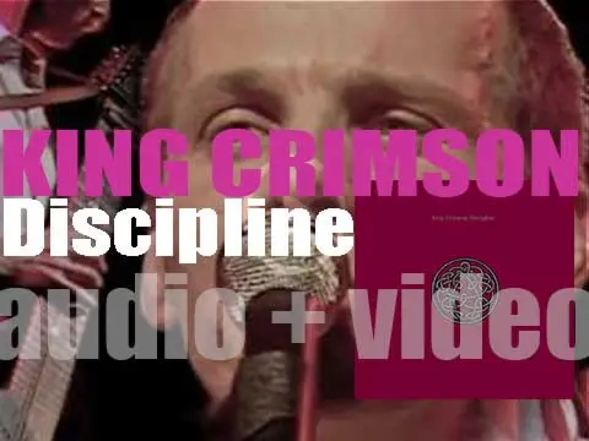 King Crimson release their eighth album : 'Discipline,' their first after seven years (1981)