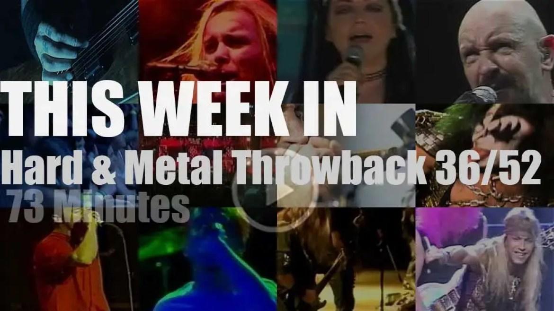 This week In  'Hard & Metal Throwback' 36/52
