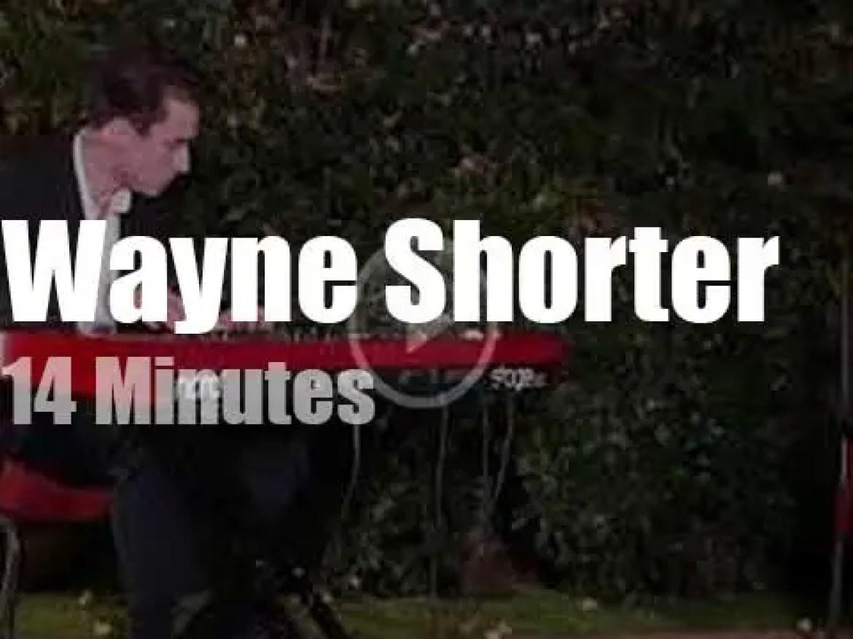 Wayne Shorter gives a 'House Concert' (2017)