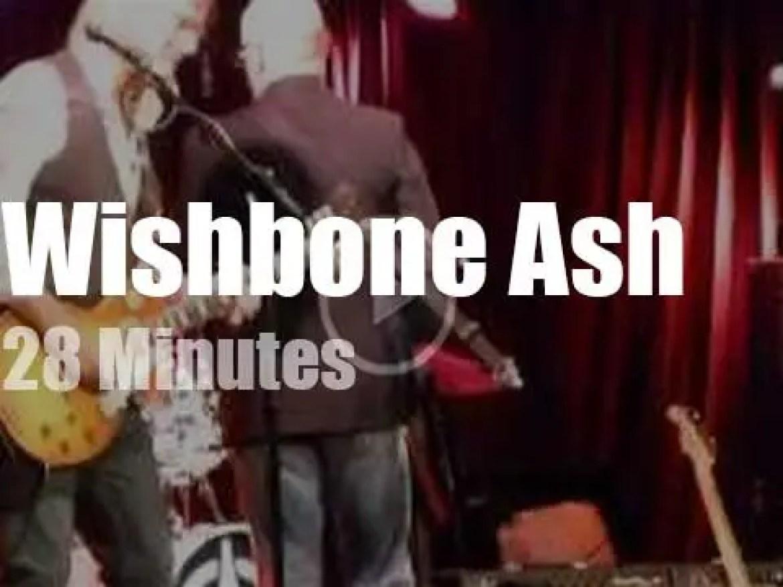 Wishbone Ash visit New-York (2014)