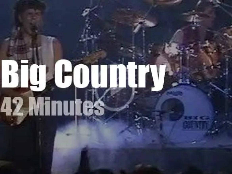 Big Country visit Munich (1983)