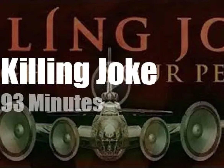 Killing Joke visit Paris (2018)