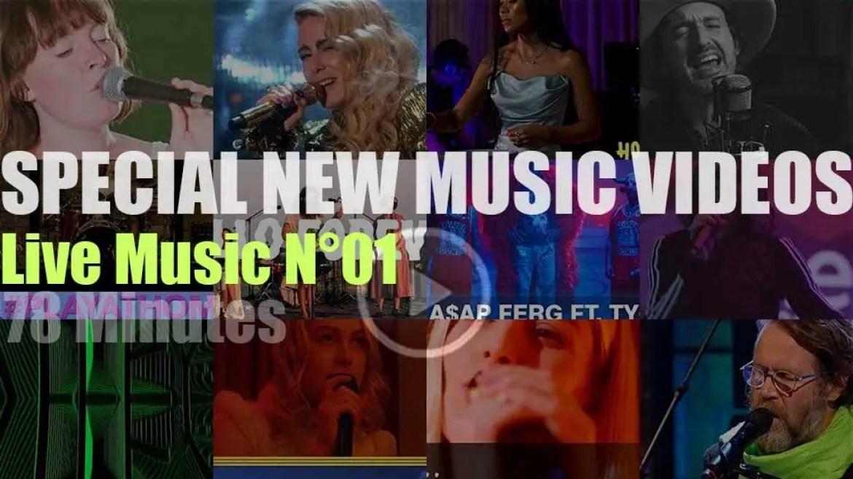 'Live Music'  New Music Videos N°01