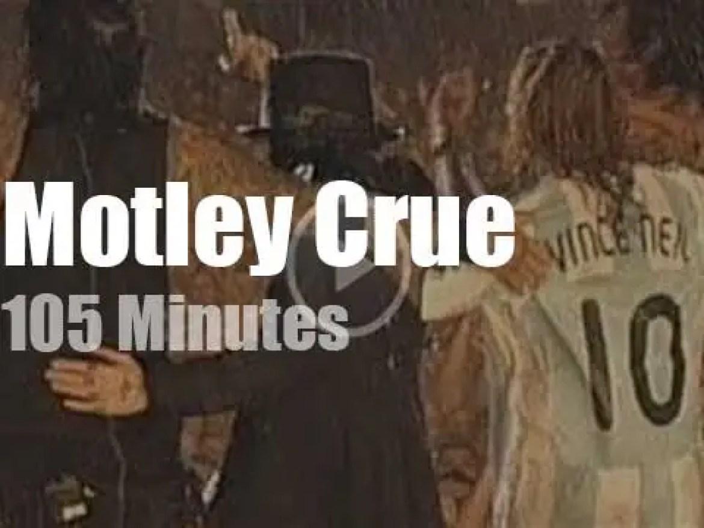 Motley Crue enchant Buenos Aires (2008)