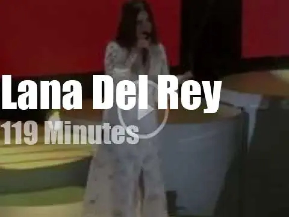 Sean, Chris and several others guest with Lana Del Rey (2019)