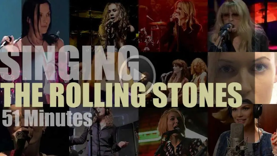 Singing (Ladies only)  The Rolling Stones