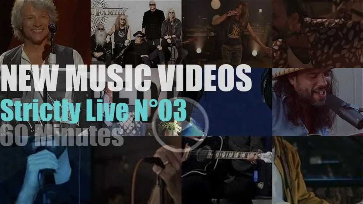 'Strictly Live'  New Music Videos N°03
