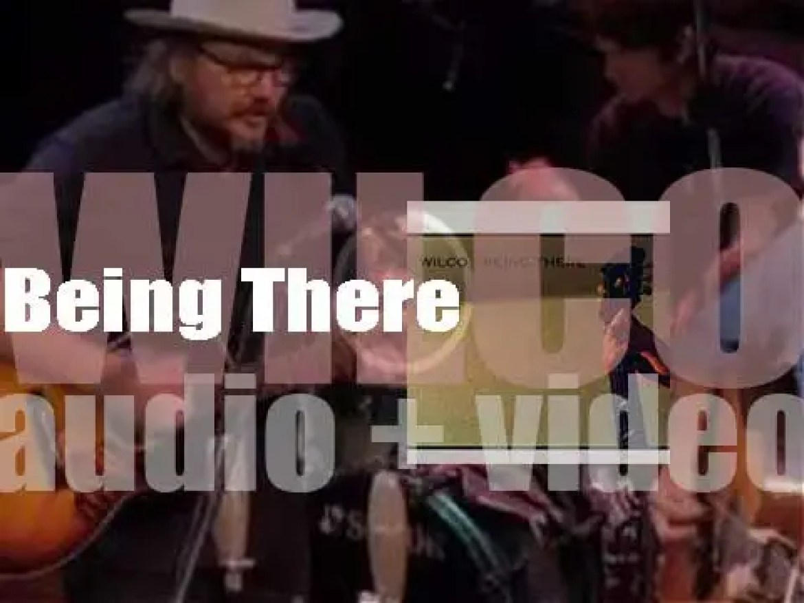 Reprise publish Wilco's second album : 'Being There' fully written by Jeff Tweedy (1996)