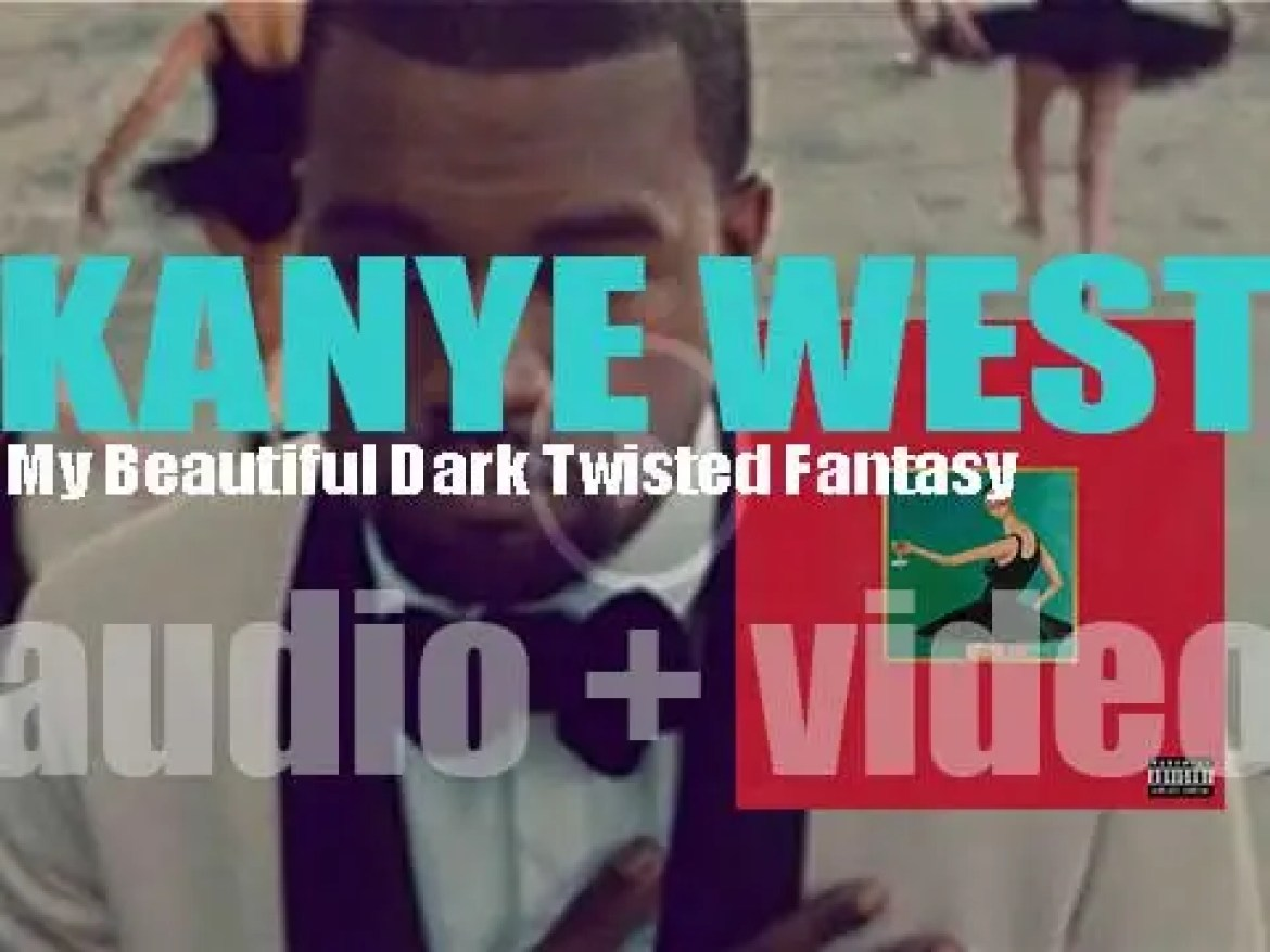 Kanye West releases 'My Beautiful Dark Twisted Fantasy,' his fifth album featuring 'Power' (2010)