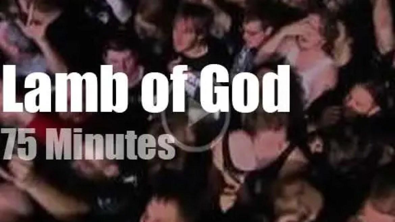 Lamb of God enchant Philadelphia (2013)