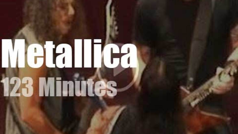 Metallica serenade New Orleans (2008)