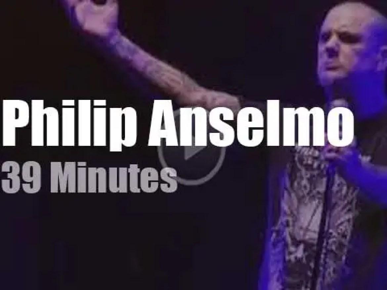 Philip Anselmo opens for Slayer (2019)