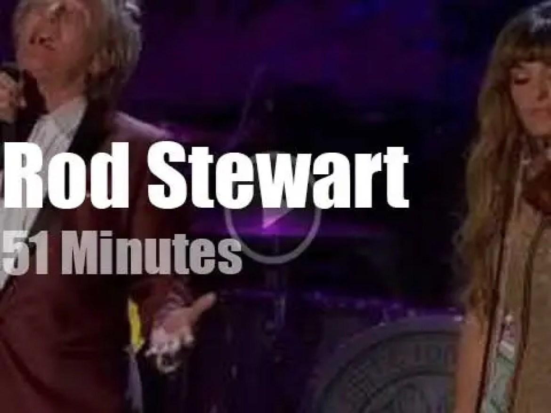 Rod Stewart celebrates Christmas at a Scottish Castle (2012)
