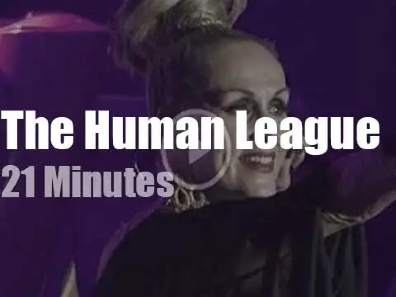 The Human League visit Berlin (2016)