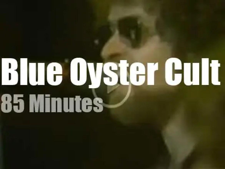 Blue Oyster Cult rock Maryland (1976)