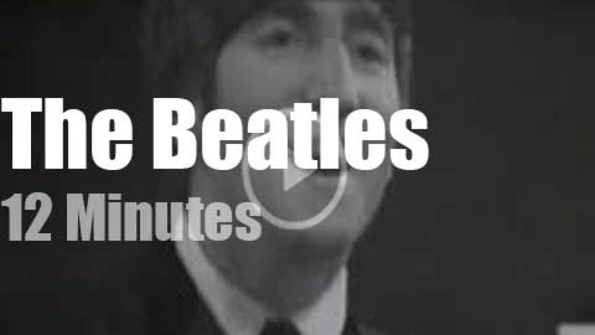 On British TV today, The Beatles at 'Thank Your Lucky Stars' (1963)