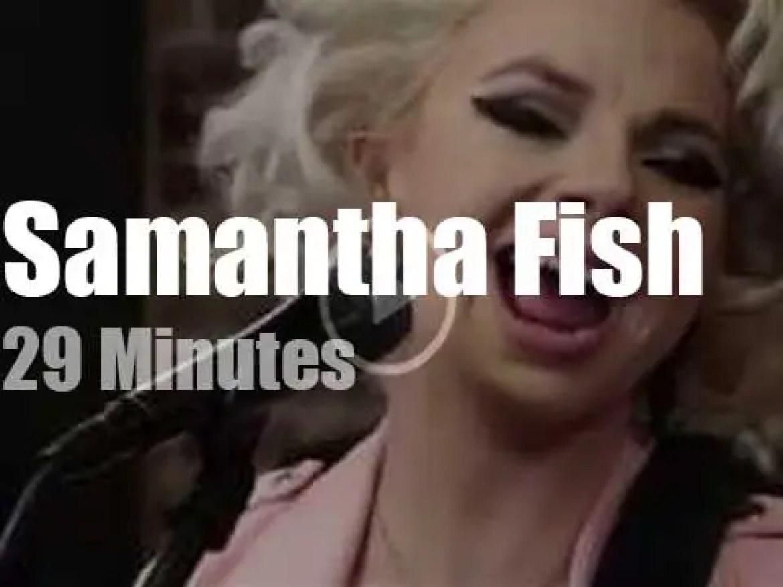 Samantha Fish performs at Paste Studio (2019)